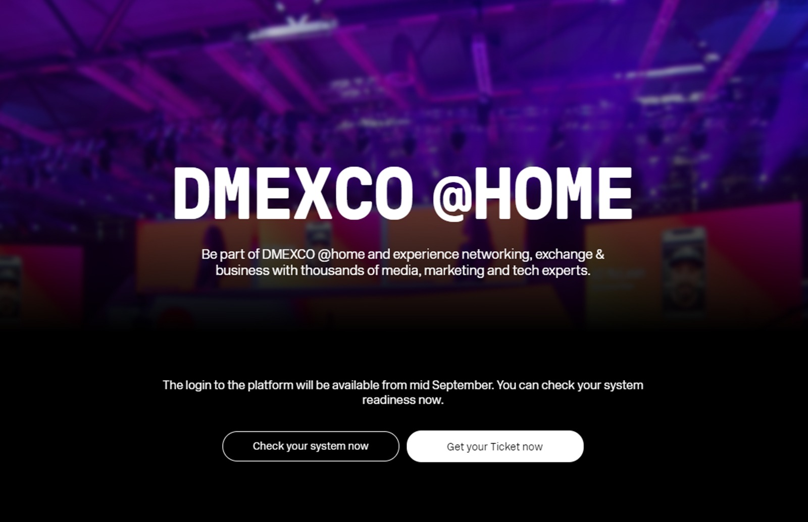 The DMEXCO @home visitor guide will help you make the most of both expo days.